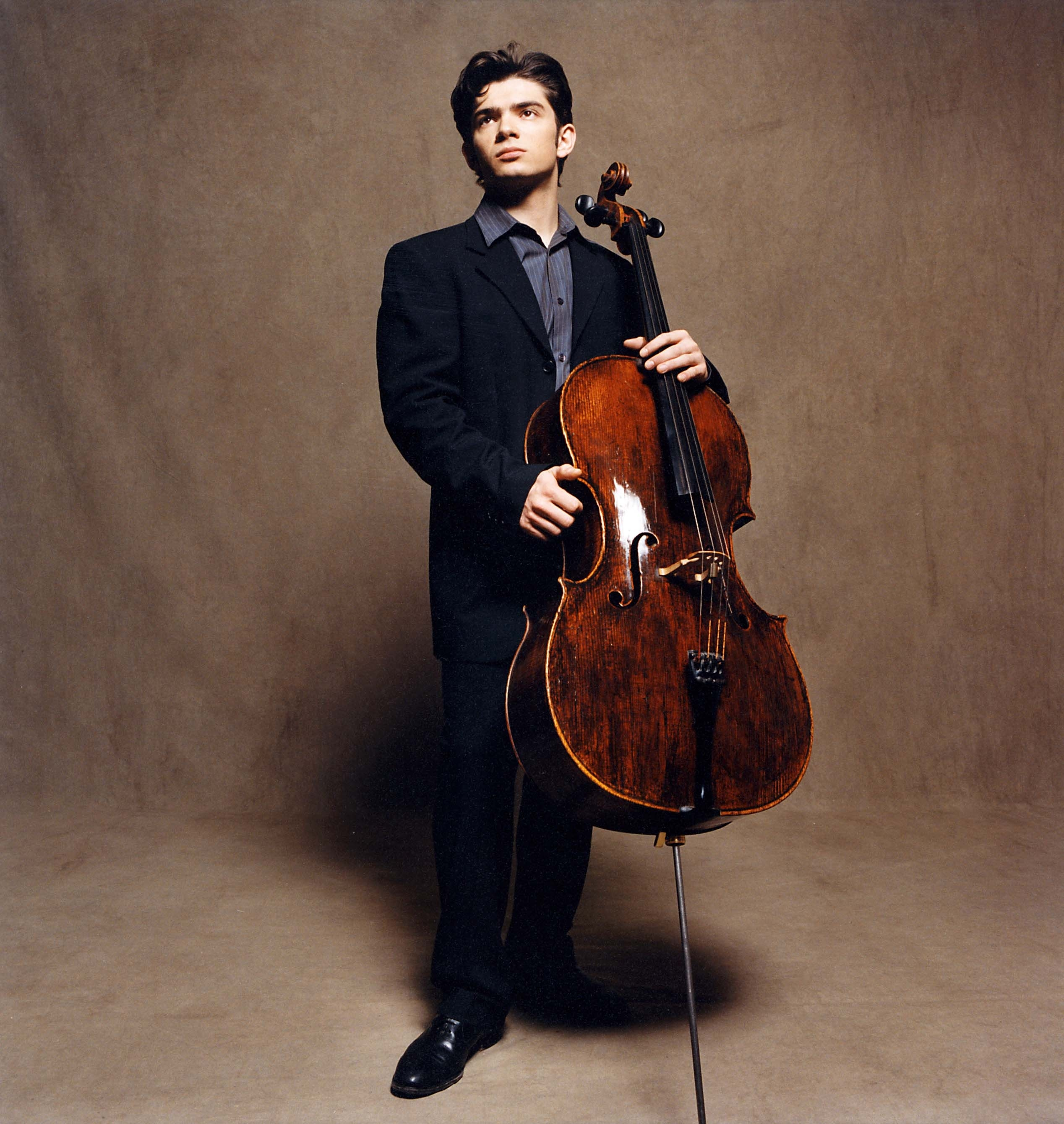 Masterclass de cello ��� Gautier Capu��on | consev.